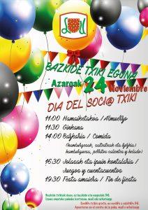 Bazkide Txiki eguna / Dia del Soci@ Txiki