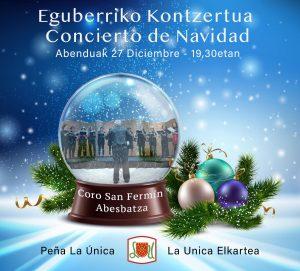 Eguberriko kontzertua/Concierto de Navidad